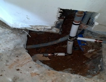 Emergency water leak repair in Woodstock Roswell GA